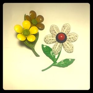 Handmade Vintage Brooches (2 Pack)